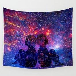 Little Star Gazers Wall Tapestry