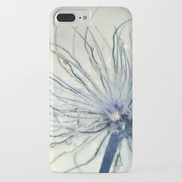 coloured feathers iPhone Case
