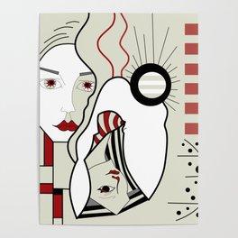 Bauhaus Babes Poster
