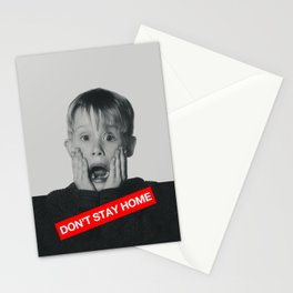 Don't Stay Home! Stationery Cards