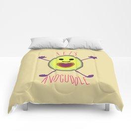 Let's Avocuddle AVOCADO Comforters