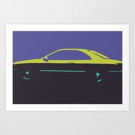 Caddy pop Art Print