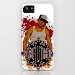 GangStarr iPhone Case