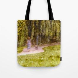 Afternoon stroll Tote Bag