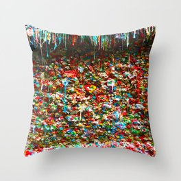 Sticky Love Throw Pillow