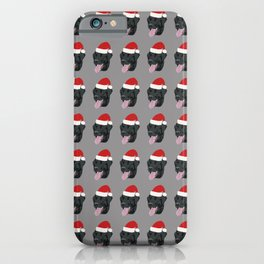 Christmas Black Lab iPhone Case