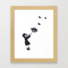 Bats Framed Art Print