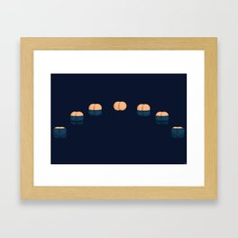 Cycles of the Moon Framed Art Print