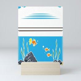 Aquarist Fish Tank Lover Funny Aquarium Saying Gift Mini Art Print