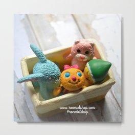 Toys - Basket Metal Print