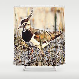 Lapwing Shower Curtain
