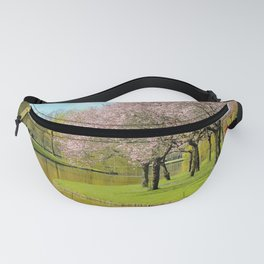 A spring day in the park Fanny Pack