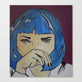 Pop Art Uma Thurman Canvas Print