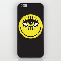cyclops iPhone & iPod Skins featuring CYCLOPS by Wesley Bird