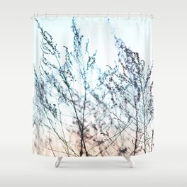 Colors in Nature Macro Shower Curtain