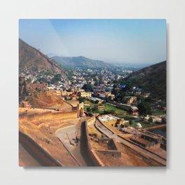 Jaipur India Metal Print