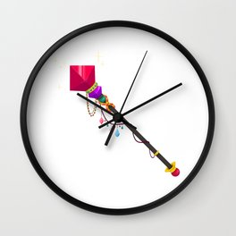 Mugic Wand Wall Clock