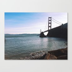 Golden Gate Bridge. Autumn 2013. Canvas Print
