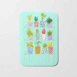 Plant Rack Bath Mat
