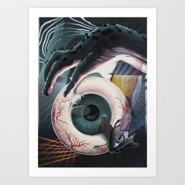 Eye Am Limbo Art Print
