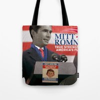 american psycho Tote Bags featuring American Psycho - 3 by Marko Köppe