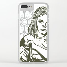 Clara helling Clear iPhone Case