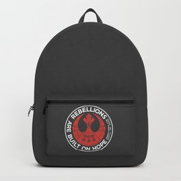 Rebellions are Built on Hope Backpack