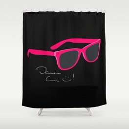 Darren Criss Glasses Shower Curtain