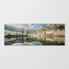 Pear Lake Panorama Canvas Print