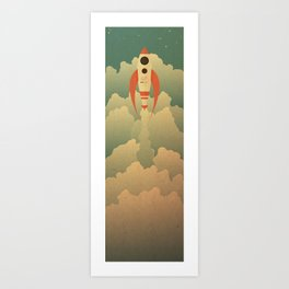 The Destination Art Print