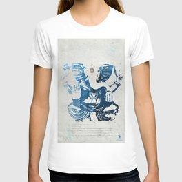GANESHA indigo T-shirt