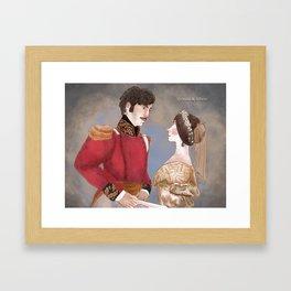 GLORIANA victoria and Albert Framed Art Print