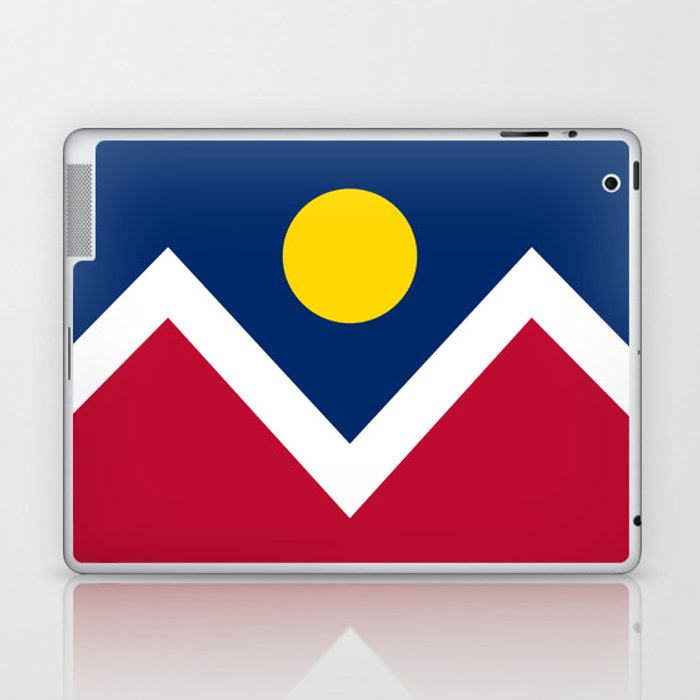 Denver, Colorado city flag - Authentic High Quality Laptop & iPad Skin