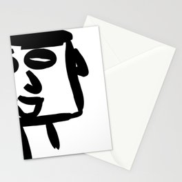 nonchalant look Stationery Cards