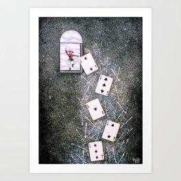 Card Game Art Print
