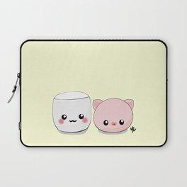 Mashii && Piggie Laptop Sleeve
