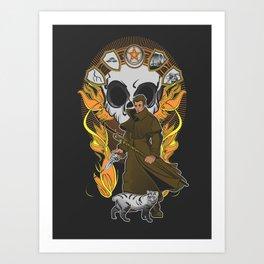 First Storm Art Print