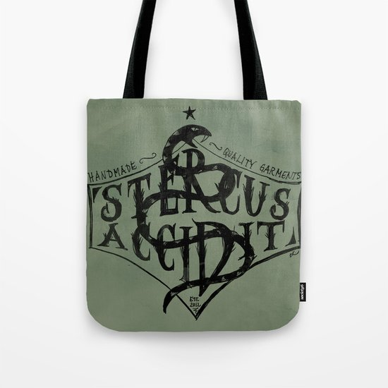 Stercus Accidit - S*** Happens Tote Bag