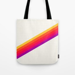 VHS Rainbow 80s Video Tape Tote Bag