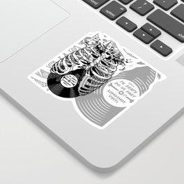 Til Death do us part. (v1) Sticker