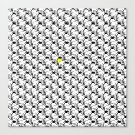 Confuse a frown - Smile VS6 Canvas Print