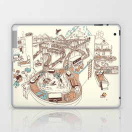 Secret Lives of Luggage Laptop & iPad Skin