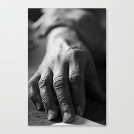 Grandma's Hands Canvas Print