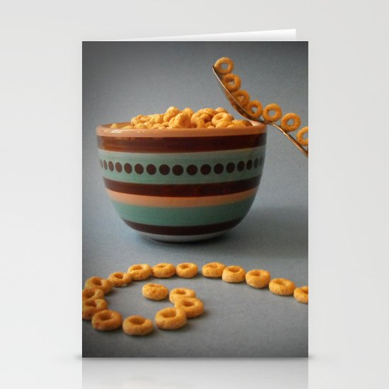 A Balanced Breakfast Stationery Cards