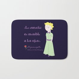 Cute little prince Bath Mat