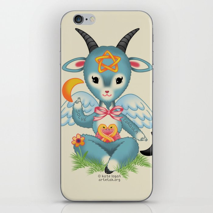 Baby's First Baphomet iPhone Skin