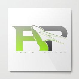 Rabid Pelican Logo Metal Print