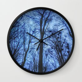 Where crows cry Wall Clock