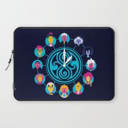 Who's time is it? Laptop Sleeve
