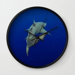 Lemon Shark Cruise Wall Clock